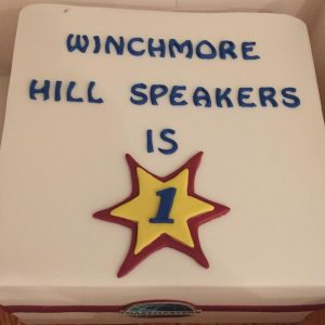 Winchmore Hill First Birthday Cake