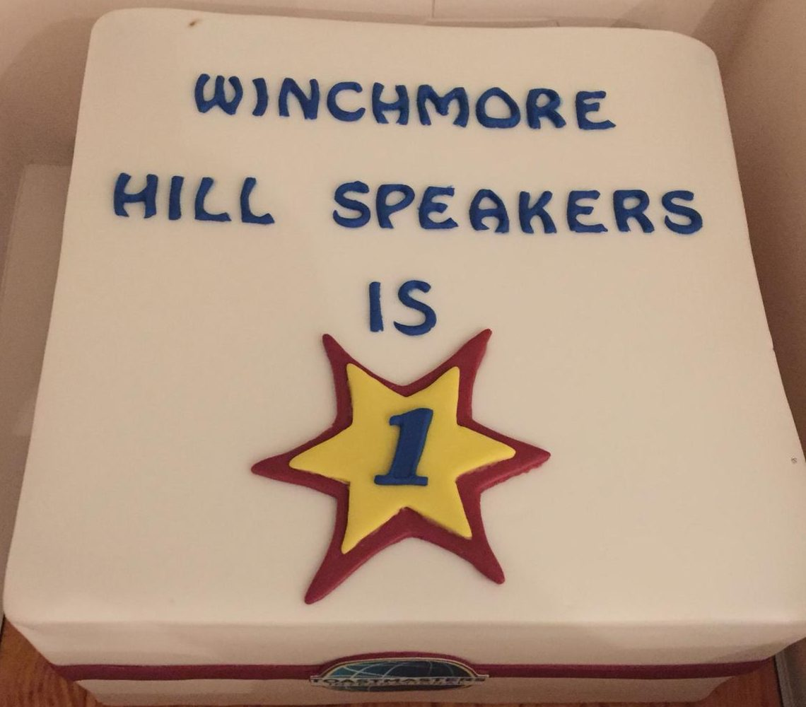 Winchmore Hill First Birthday Cake